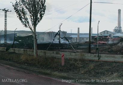 Panoramica Agrosa tras incendio