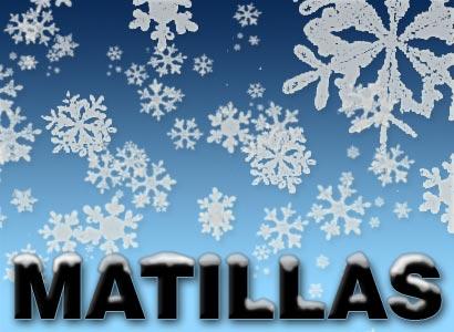 Nieve en Matillas?