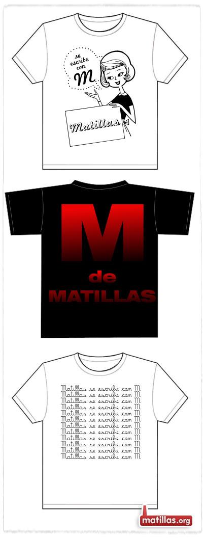 Camiseta con M de Matillas