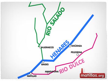 El Henares no pasa por Villaseca ni por Castejón