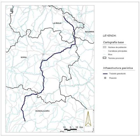 Gasoducto Guad1lajara-Soria