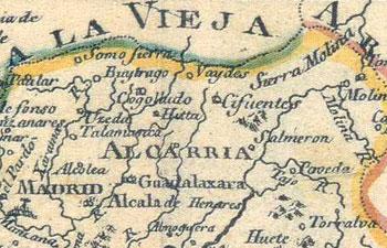 Mapa 1785