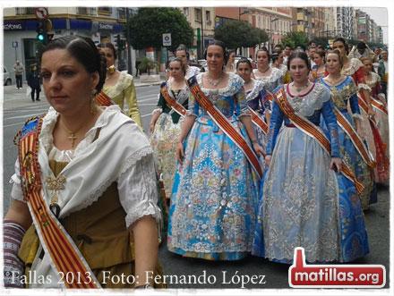 Fallas Valencia 2013