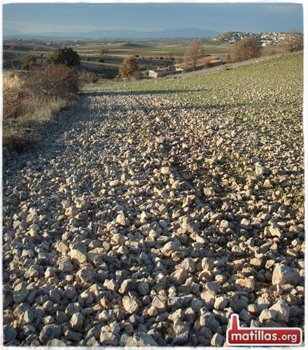 Río de piedras