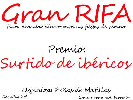 Rifa Peñas 2013