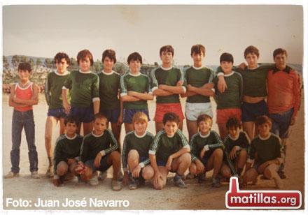 Juveniles Matillas Años 80