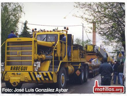Convoy nuclear Trillo 1998