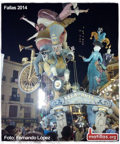 Fallas de Valencia 2014