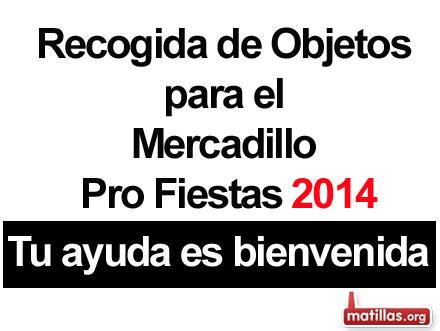 Mercadillo Pro-fiestas 2014