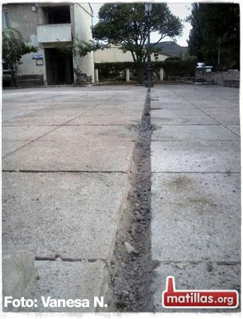 Obras en Plaza Septiembre 2014