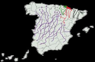 Principales Vias Pecuarias España