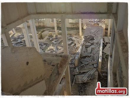 El techo del Gurugu caído