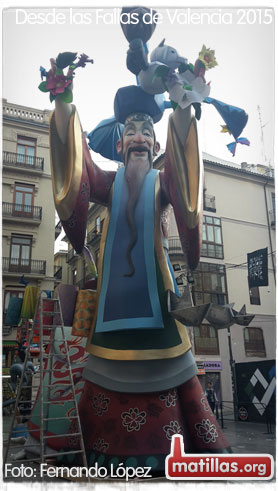 Fallas Valencia 2015
