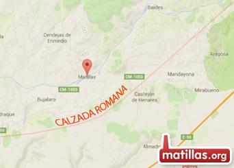 Calzada romana Matillas