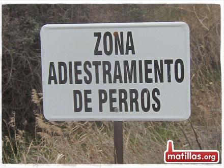 Zona Adiestramiento Perros
