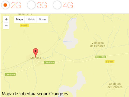 Cobertura orange Matillas