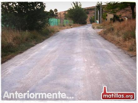Arreglo carretera Cendejas