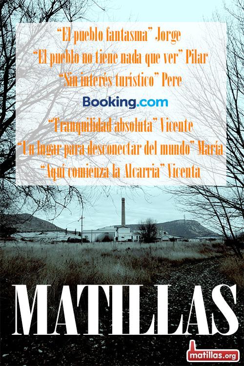 Cartel Cine Matillas