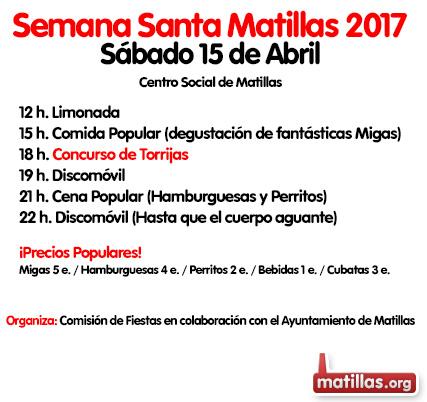 Programa de Fiestas Semana Santa 2017