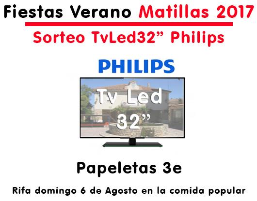 Sorteo Televisor Matillas 2017