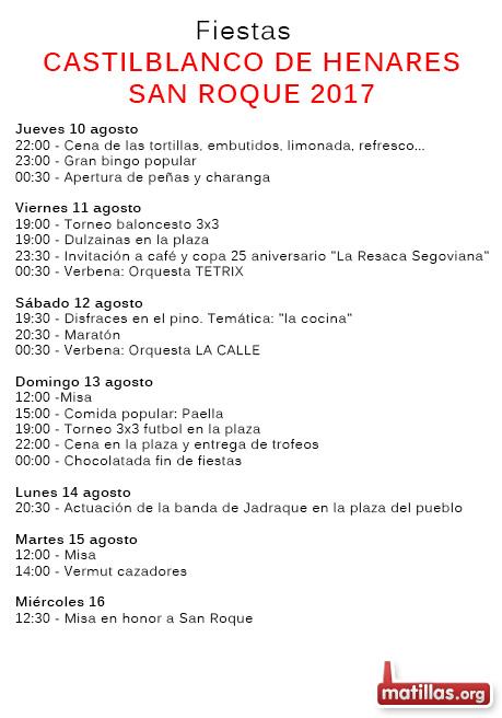 Fiestas Castilblanco 2017