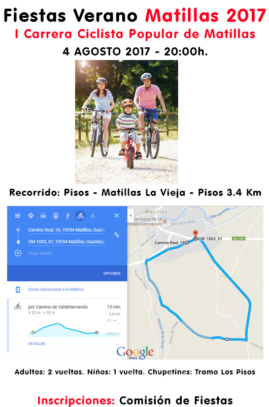 Carrera Popular Bicis Matillas