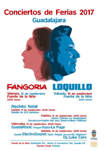 Conciertos de Ferias 2017 Guadalajara
