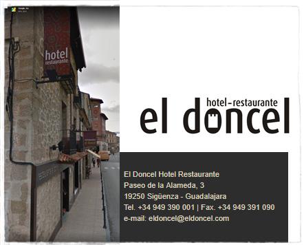 Hotel Restaurante El Doncel Sigüenza