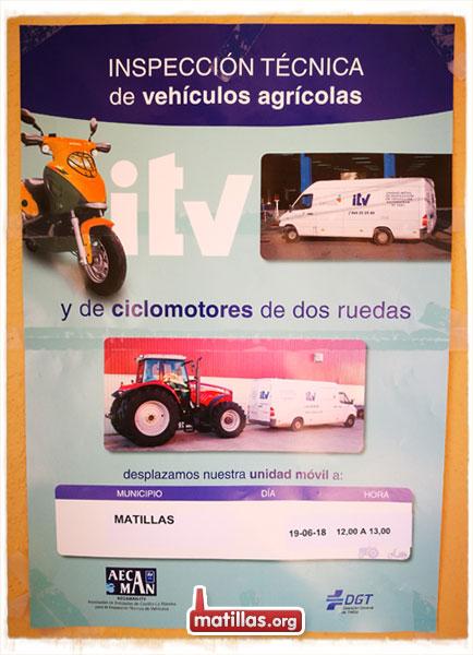 ITV agrícola 2018