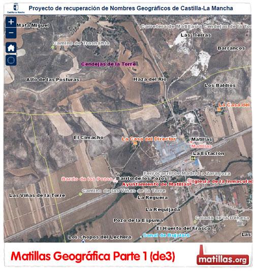 Mapa Topografico Matillas
