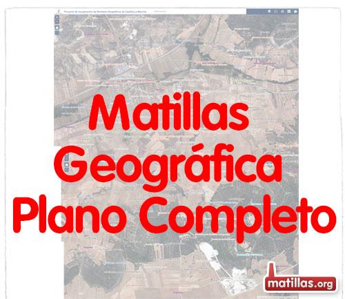 Mapa Microtopografico Matillas