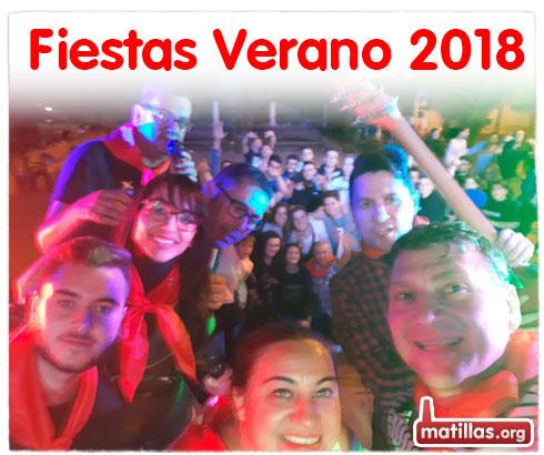 Fiestas Verano Matillas 2018
