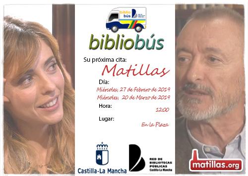 Bibliobus Visitas Febrero y Marzo 2019