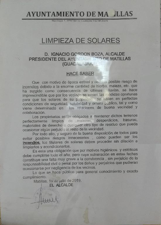 Bando Municipal Julio 2019