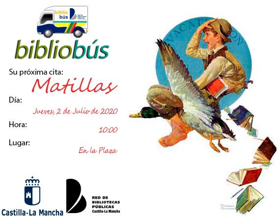 Bibliobus Julio 2020