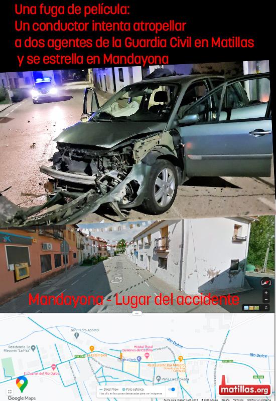 Siniestro Total en Mandayona