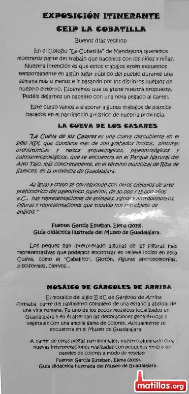 Expo CEIP La Cobatilla
